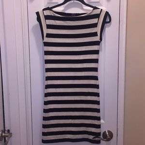 French Connection cotton stripe dress